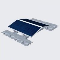 浮动式太阳能光伏(PV)支架系统定制设计,外贸推广