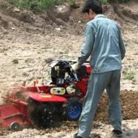 开沟机电动除草机视频开沟培土机的视频独轮开沟培土机视频