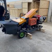 细石混凝土输送泵全机械化操作