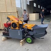 柴油动力电动混泥土输送泵适应性强