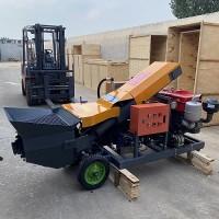 二次构造混凝土输送泵操作简单